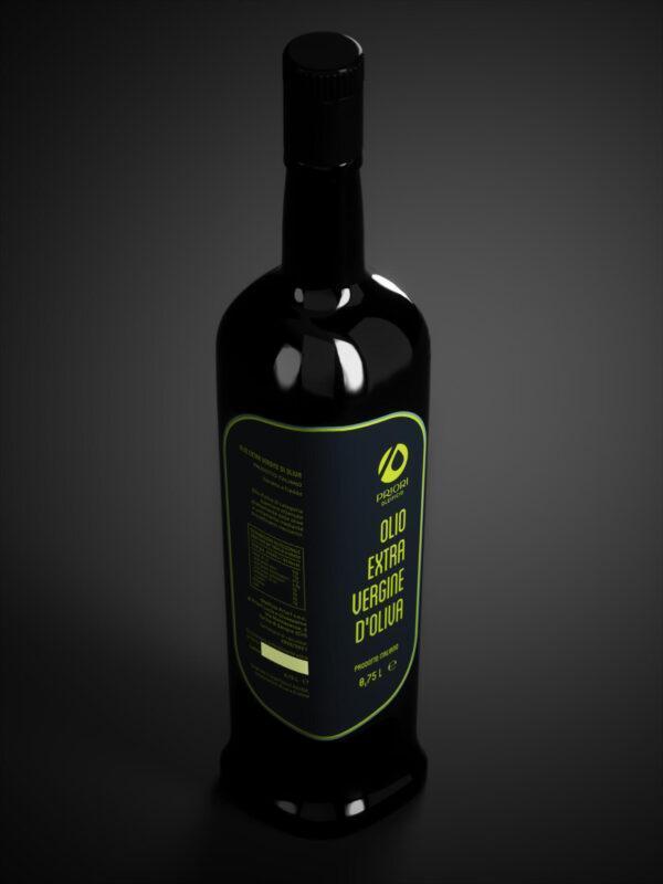 Bottiglia da 0,75 litri di olio extra vergine d'oliva Priori - Olio della Costa dei Trabocchi